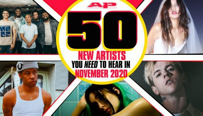 new bands for November 2020 | new songs