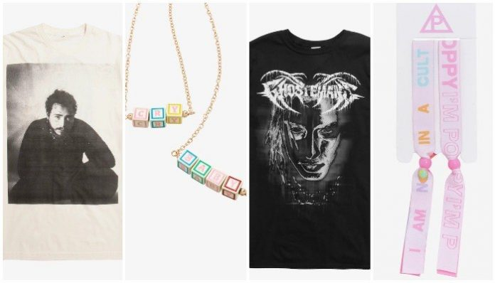 post malone melanie martinez ghostemane poppy alt pop merch