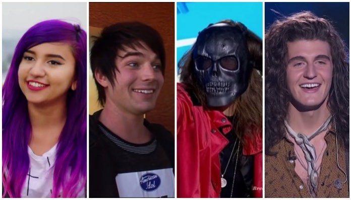 rock american idol auditions
