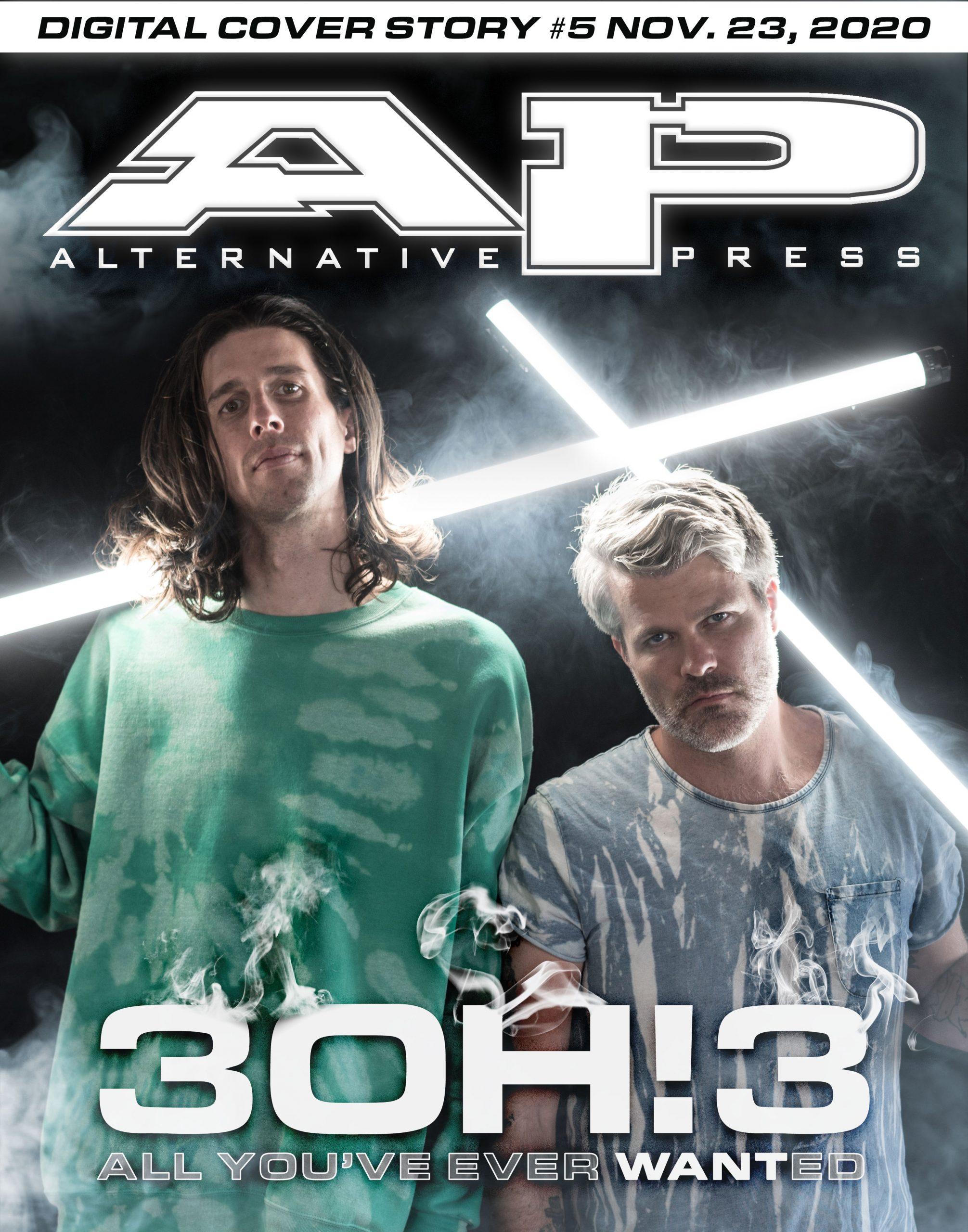 3OH!3 3oh3 lonely machine Digital Cover story