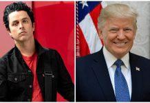 Billie Joe Armstrong Donald Trump