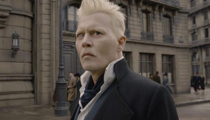 Fantastic Beasts Johnny Depp-min