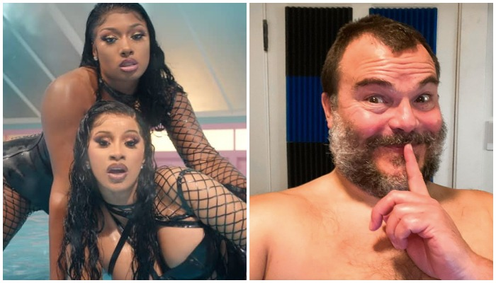 """Jack Black's attempt at the """"WAP"""" dance is exactly what you'd expect"""