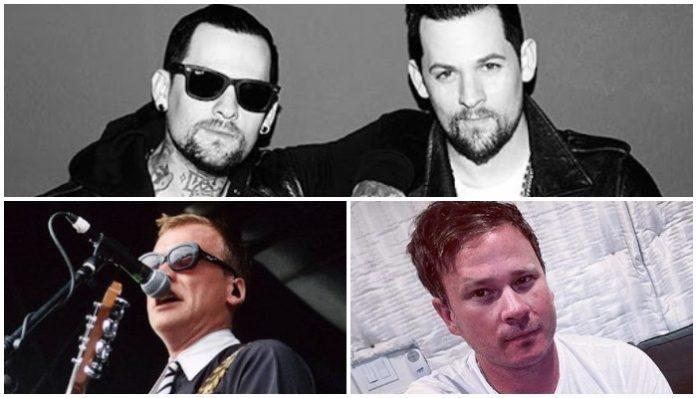 Joel and Benji Madden Matt Skiba blink-182 Tom Delonge