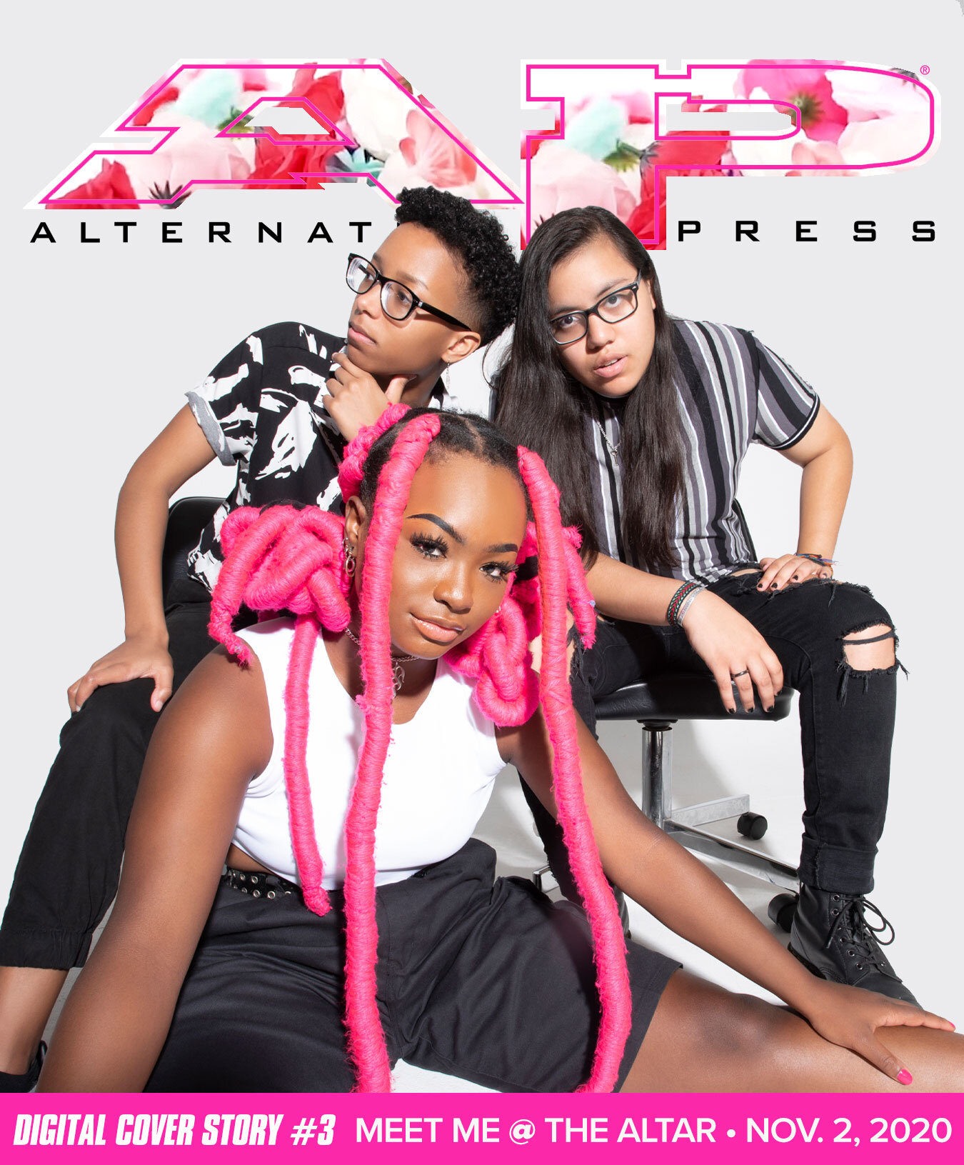 Meet Me @ The Altar digital cover 3 alternative press cover