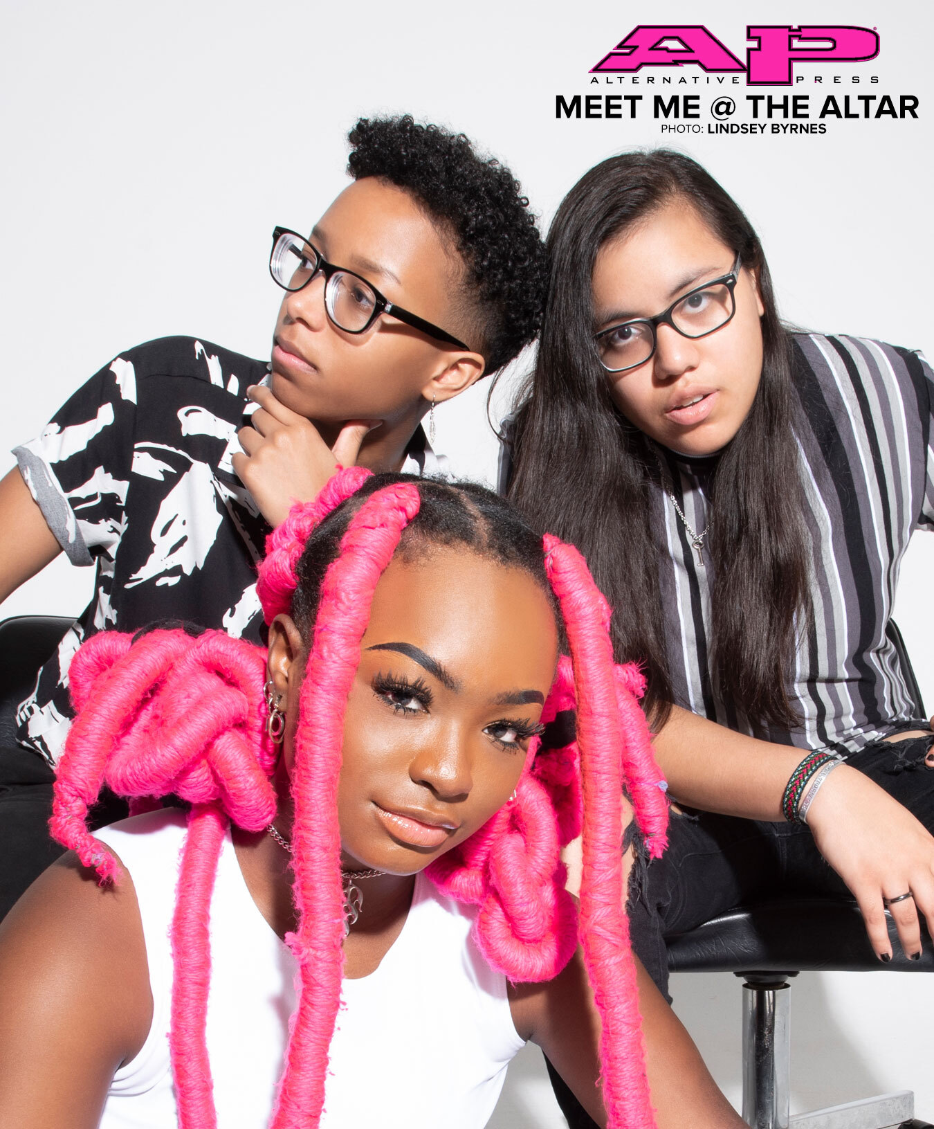 Meet Me @ The Altar alternative press digital cover