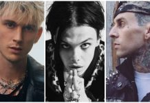 Machine Gun Kelly Travis Barker YUNGBLUD collab