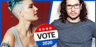 musicians voting election day 2020