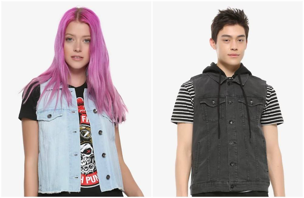 hot topic vests