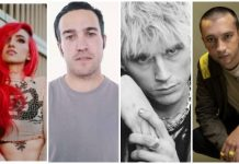 Rock Star Parents Lights Pete Wentz MGK Tyler Joseph