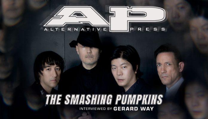 Smashing Pumpkins Gerard Way interview Billy Corgan magazine cover