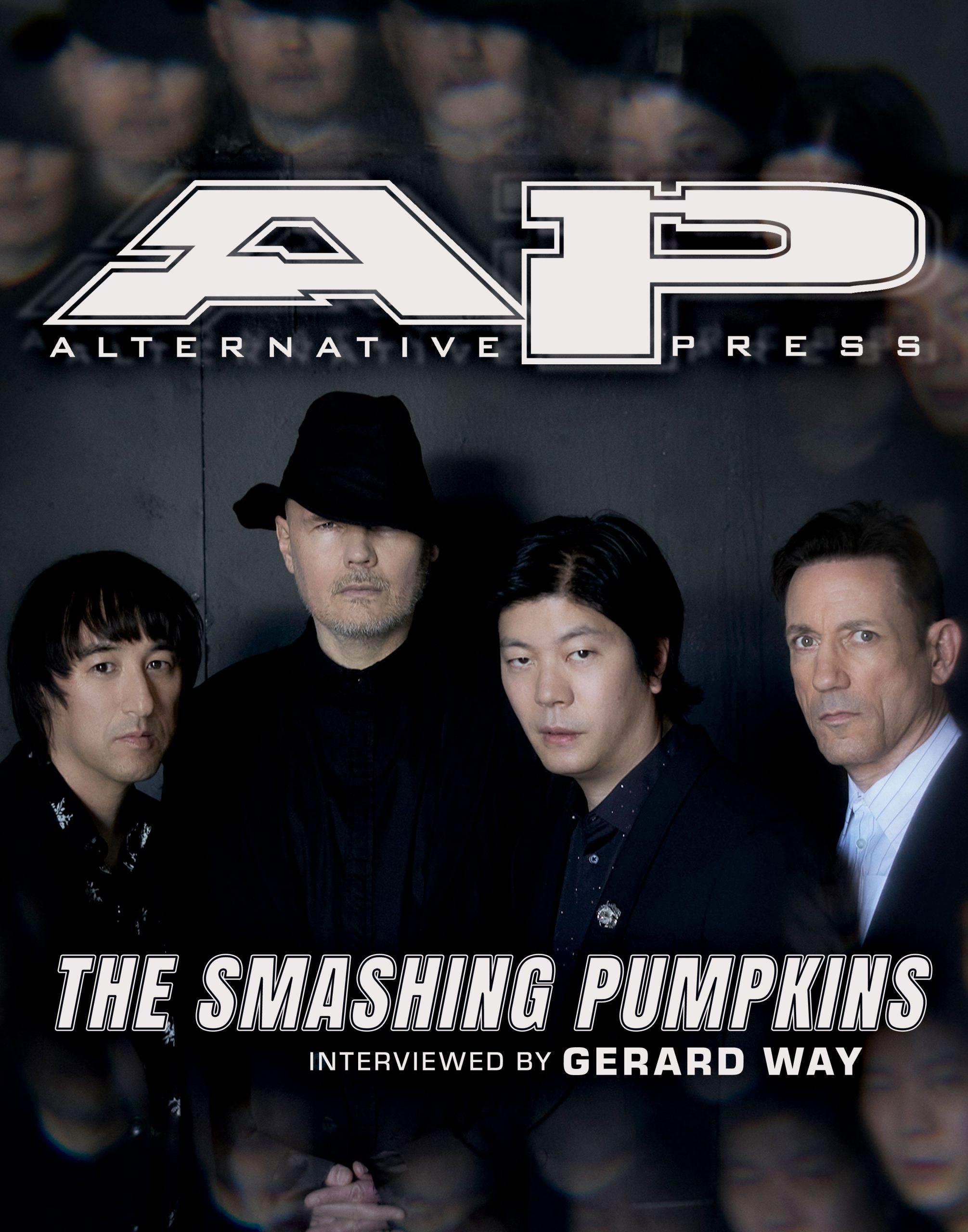 The Smashing Pumpkins Gerard Way interview Billy Corgan CYR magazine cover