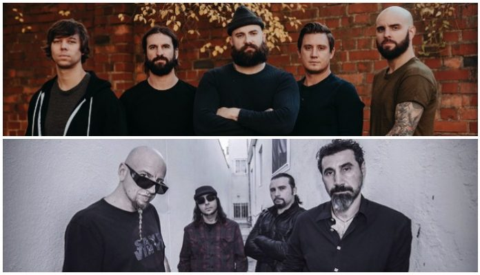 August Burns Red System Of A Down