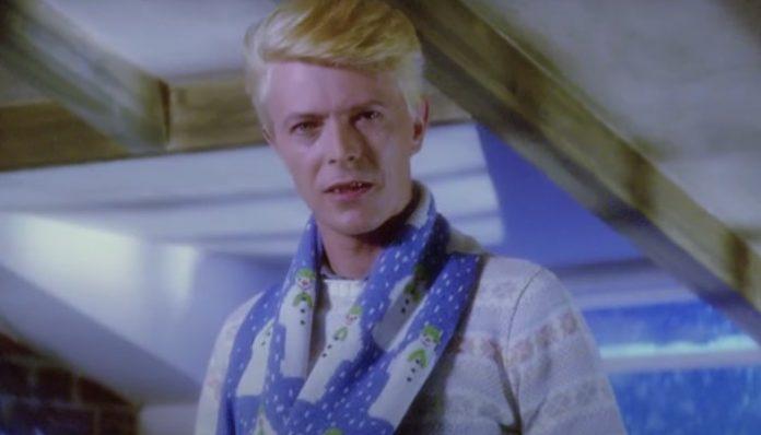 David Bowie The Snowman scarf-min