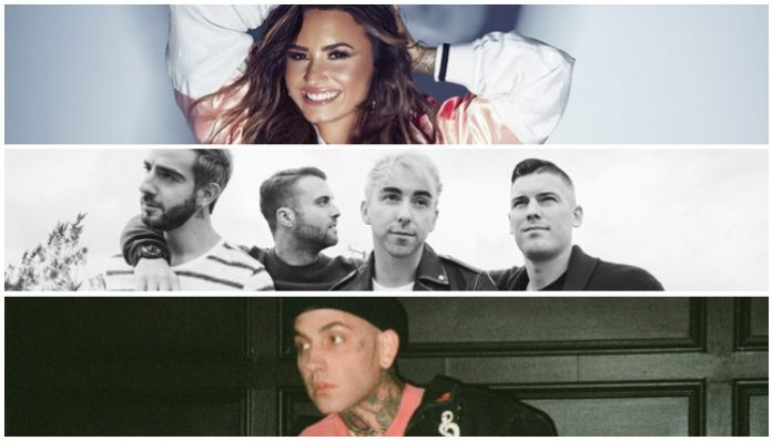 Demi Lovato All Time Low blackbear