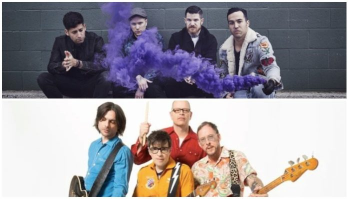 Fall Out Boy Weezer