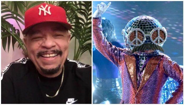 Ice-T Masked Dancer Disco Ball
