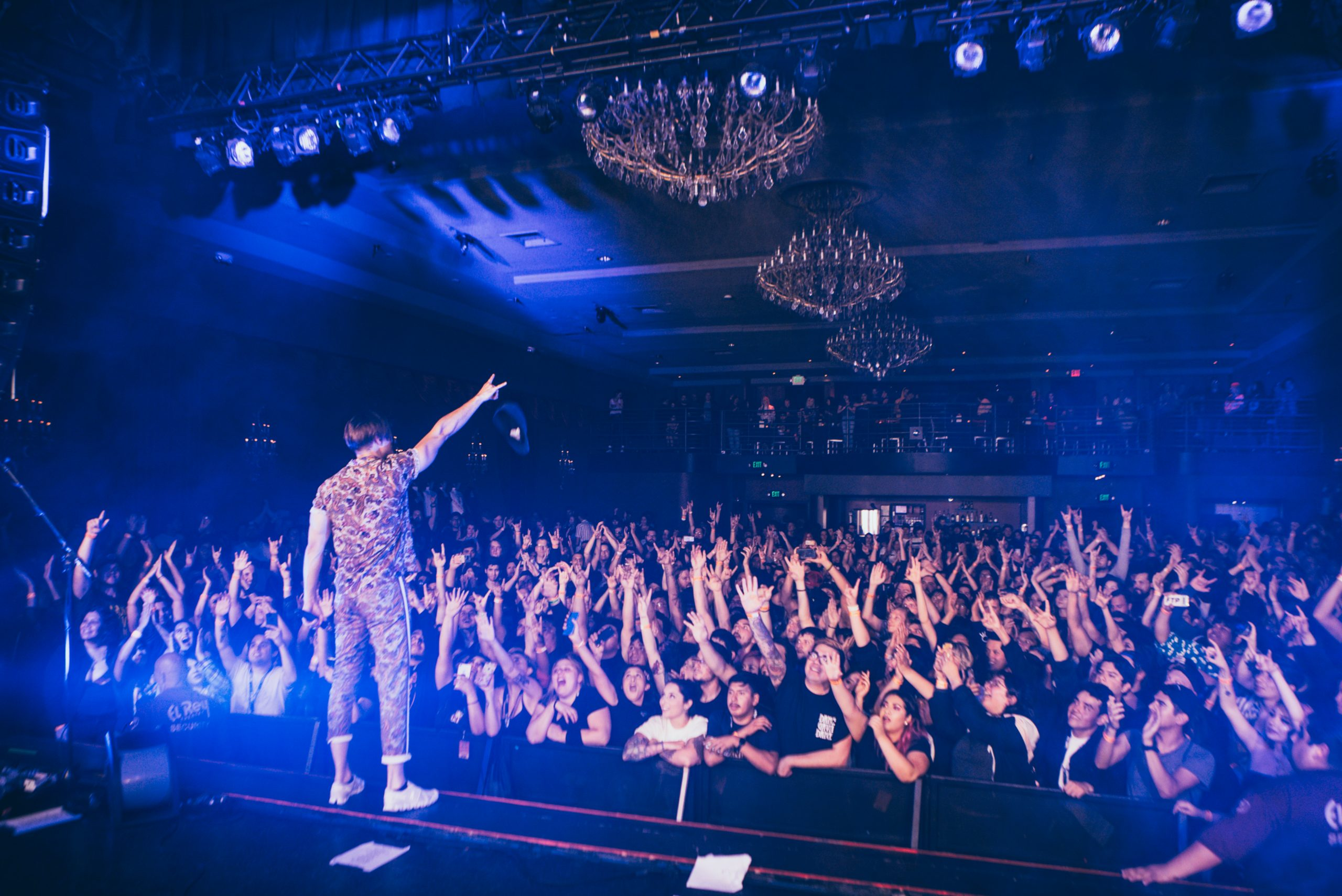 Dance Gavin Dance live