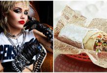 Miley Cyrus Chipotle