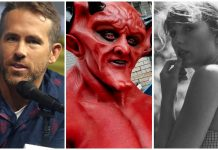 Ryan Reynolds Taylor Swift Satan Love Match
