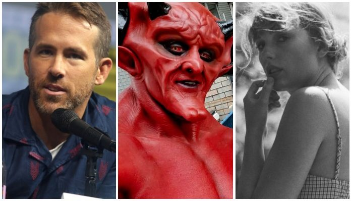 Ryan Reynolds Taylor Swift Satan Love Match