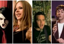 Gerard Way Avril Lavigne blink-182 Paul McCartney