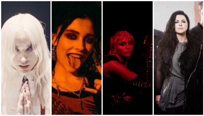 Poppy Pale Waves Miley Cyrus Evanescence