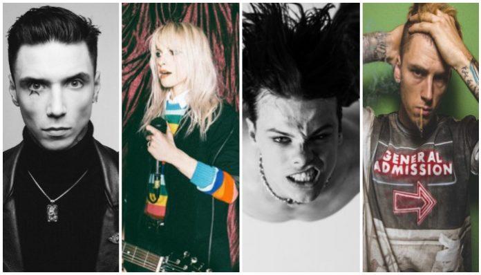 Andy Black, Paramore, YUNGBLUD, Machine Gun Kelly