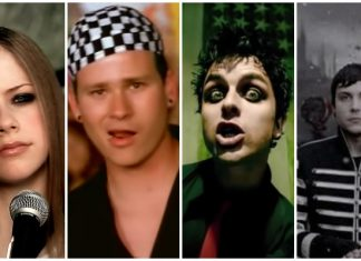 Avril Lavigne, blink-182, Green Day, My Chemical Romance
