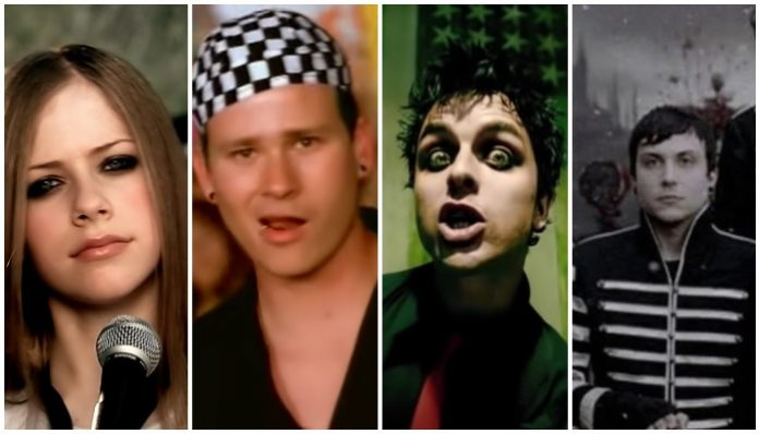 Avril Lavigne, blink-182, Green Day, My Chemical Romance