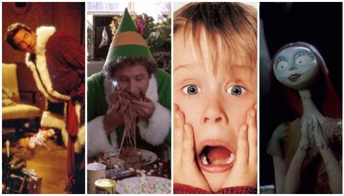 The Santa Clause Elf Home Alone The Nightmare Before Christmas