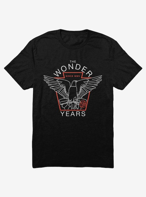 the wonder years shirt pop punk