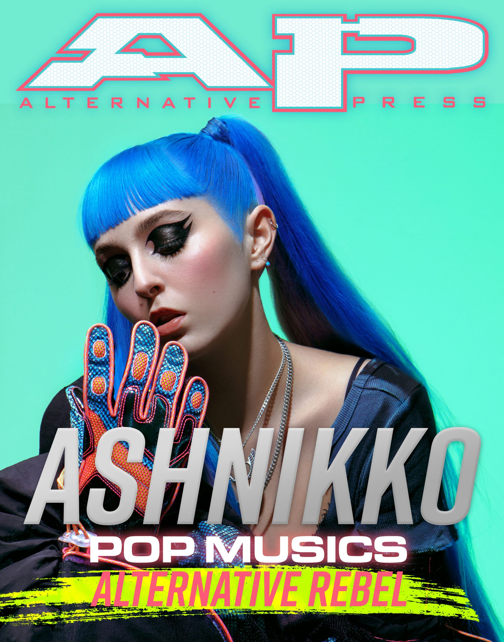 Ashnikko Alternative Press AltPress AP Digital Cover Demidevil