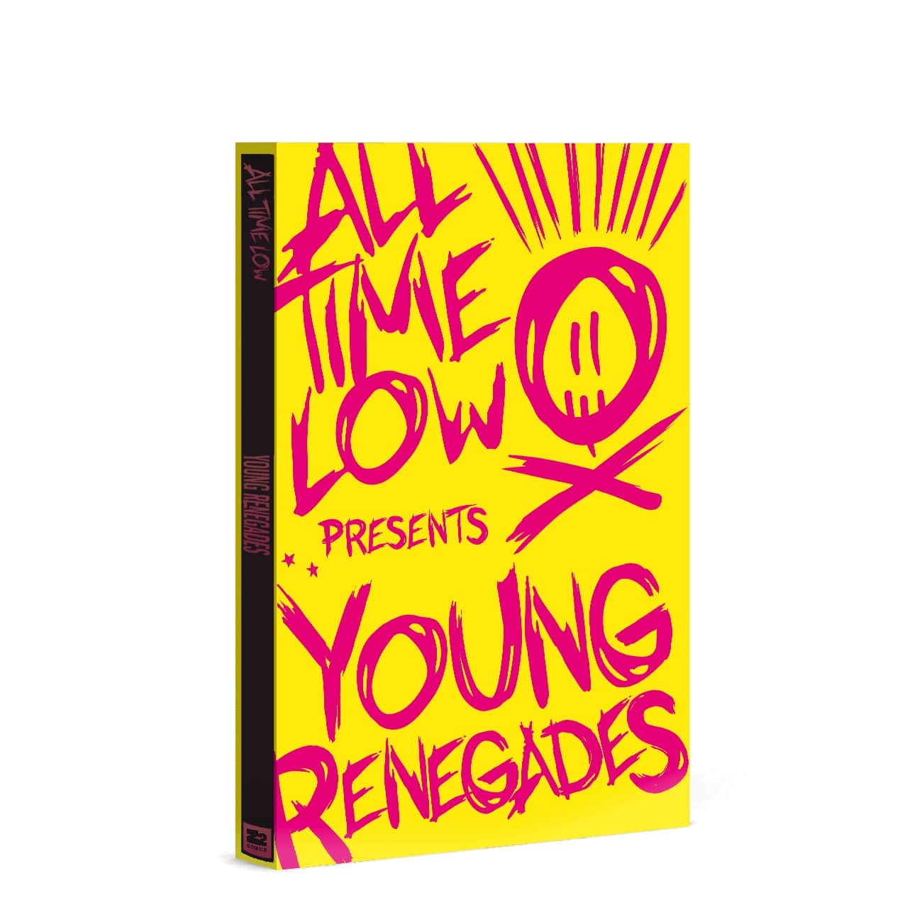 All Time Low Young Renegades Graphic Novel