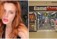 Bella Thorne GameStop