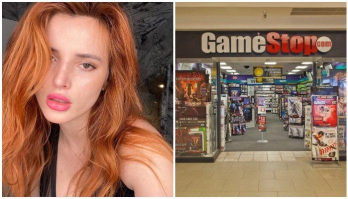Bella Thorne GameStop