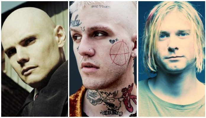 Billy Corgan Kurt Cobain Lil Peep
