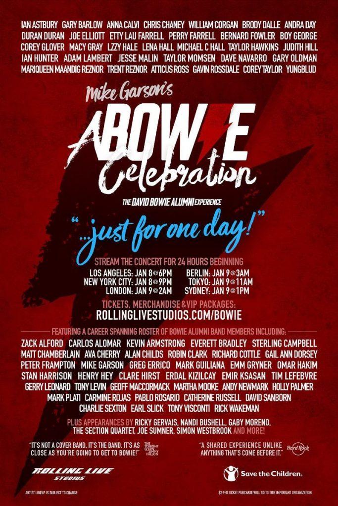 David Bowie celebration event-min