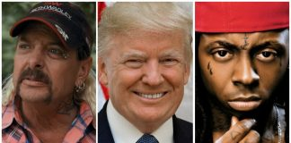 Donald Trump Joe Exotic Lil Wayne