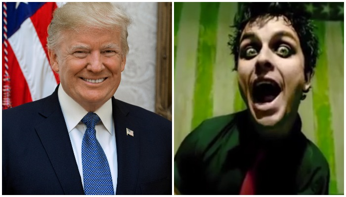 Green Day fans remind Trump supporters what this song means again