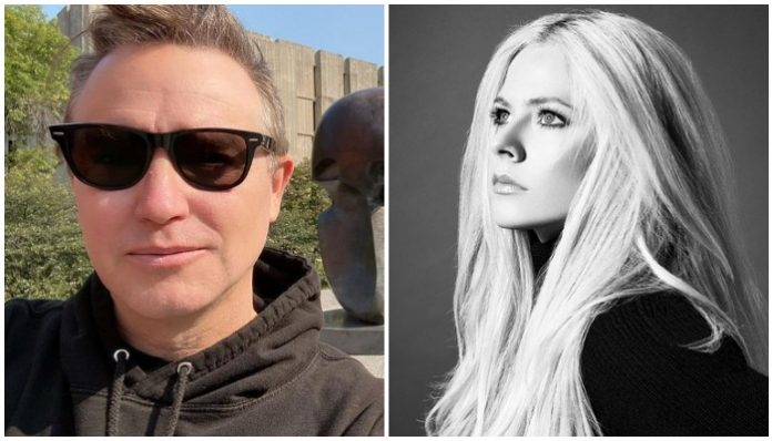 Mark Hoppus Avril Lavigne