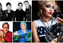 Miley Cyrus Metallica Elton John Chad Smith