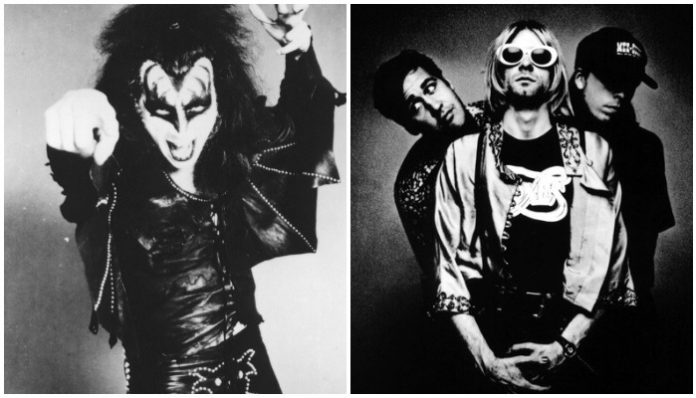 Nirvana Gene Simmons KISS