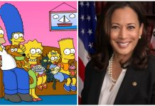 The Simpsons prediction Kamala Harris