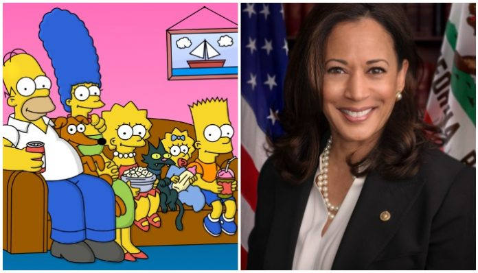 The Simpsons prediction Kamala Harris