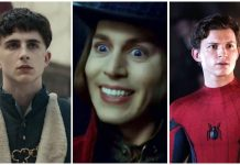 Timothee Chalamet Willy Wonka Tom Holland