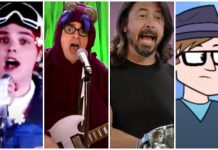children's shows, mcr, weezer, dave grohl, patrick stump