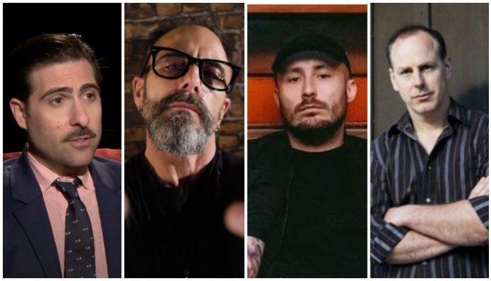 musicians new careers, Jason Schwartzman, phantom planet, dan spitz, anthrax, as it is, patrick foley, greg gaffin, bad religion