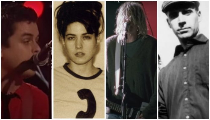 1991 punk albums, billie joe armstrong, bikini kill, nirvana, fugazi