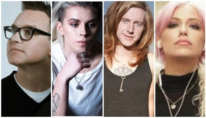 2010s pop punk collaborations, mark hoppus, lynn gunn, we the kings, tonight alive